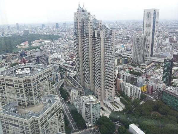 「東京都庁 南展望台」