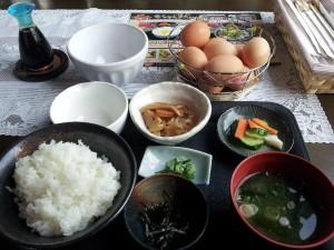 【新潟県南魚沼市】 我が家の卵 「たまごかけご飯定食」