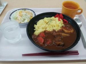 【茨城県つくば市】 産総研食堂 「欧風カレー」