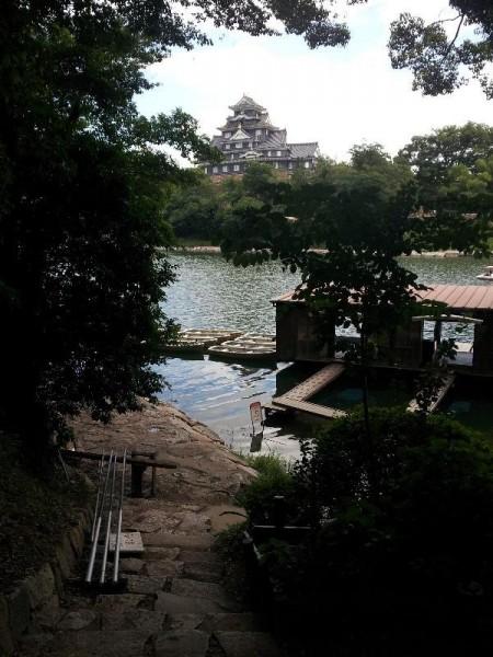 後楽園からの岡山城