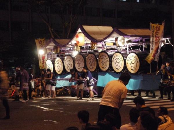 「ねぶた祭りの太鼓」