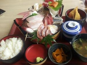 【福島県いわき市】 小名浜漁港 市場食堂 「刺盛定食」