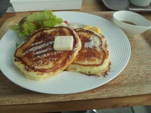 【茨城県日立市】 シーバーズカフェ 「オリジナルパンケーキ&ブレンドコーヒー」
