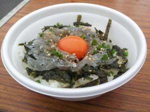 【日立港 秋の味覚まつり 2012】 久慈浜しらす丼