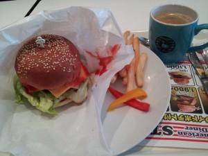 【福島県いわきラ・ラ・ミュウ】 STAR DUCK 「チーズバーガー」