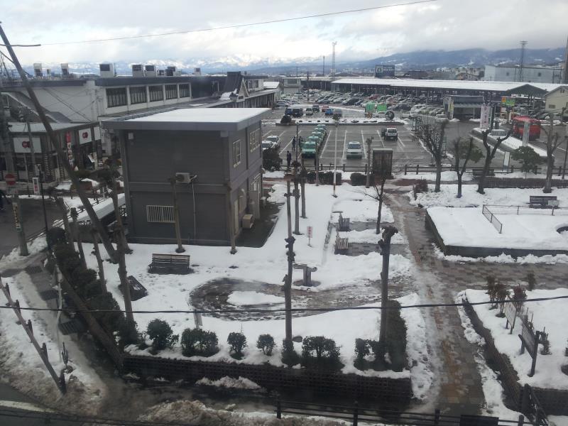 会津若松駅ロータリー