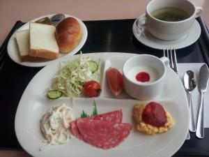 【福島県会津若松市】 駅前フジグランドホテル 「洋朝食」