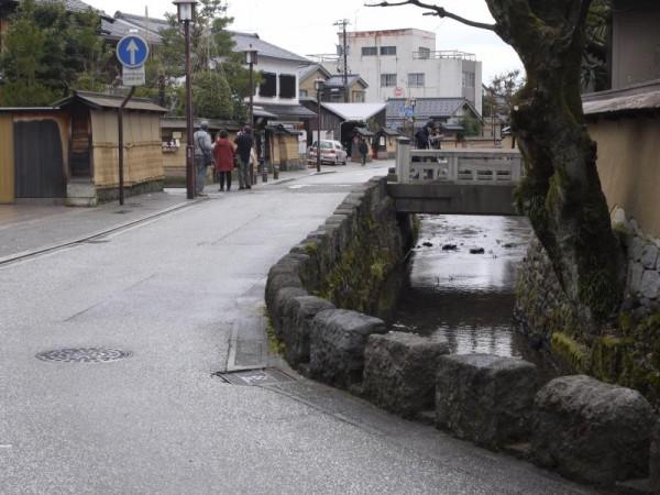 金沢の裏通り