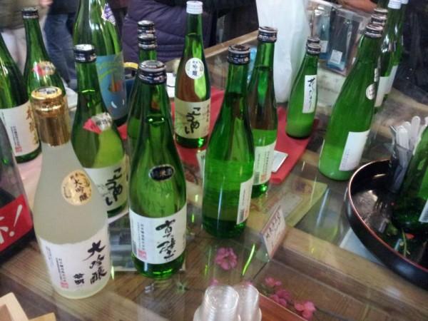 真壁のひなまつり 「村井醸造試飲コーナー」