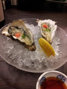 【茨城県取手市】 北勝 「厚岸生牡蠣」