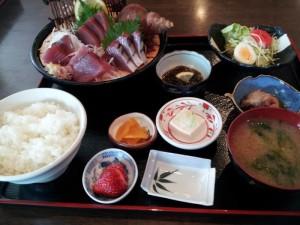 【福島県いわき市】 小名浜海鮮呑屋 「かつお刺定食」
