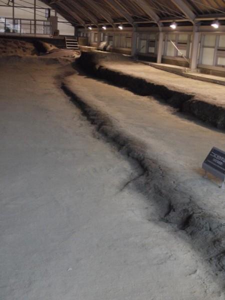 【兵庫県淡路市】 野島断層保存館 断層保存ゾーン