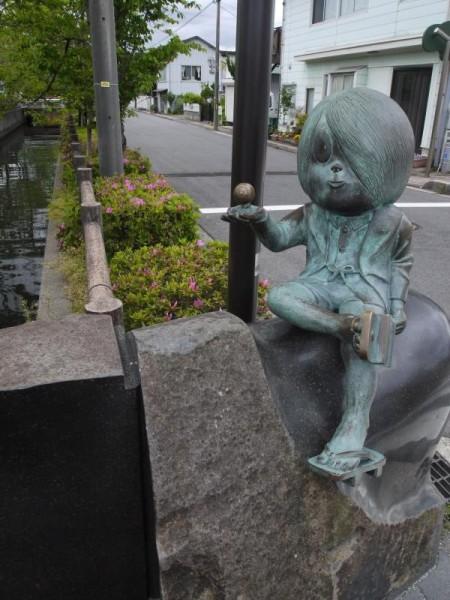 水木しげるロード「鬼太郎の像」