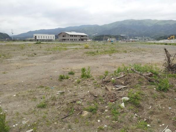 陸前高田市 震災瓦礫は綺麗に無くなった