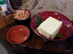 【福島県金山町】 玉梨とうふ茶屋 「幻の青ばととうふ」