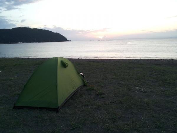 千葉県富津市 多田良キャンプ場
