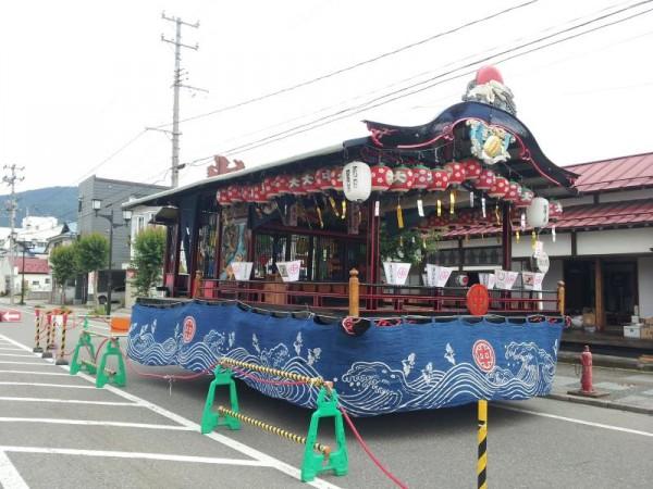 会津田島の祇園祭の山車