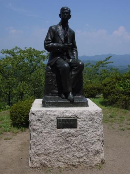 【岡山県竹田市】 岡城跡 滝廉太郎銅像