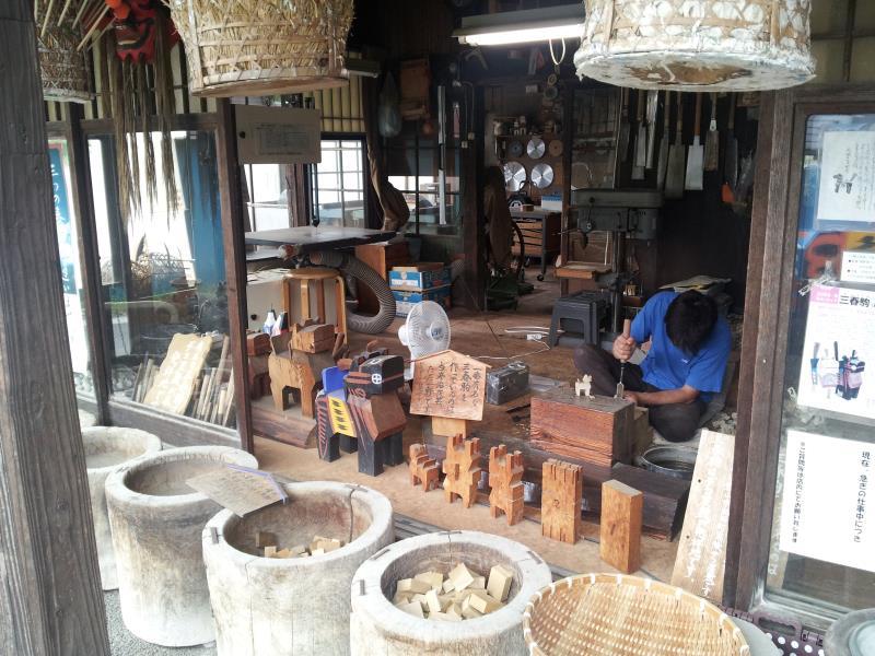 高柴デコ屋敷「木型作り」