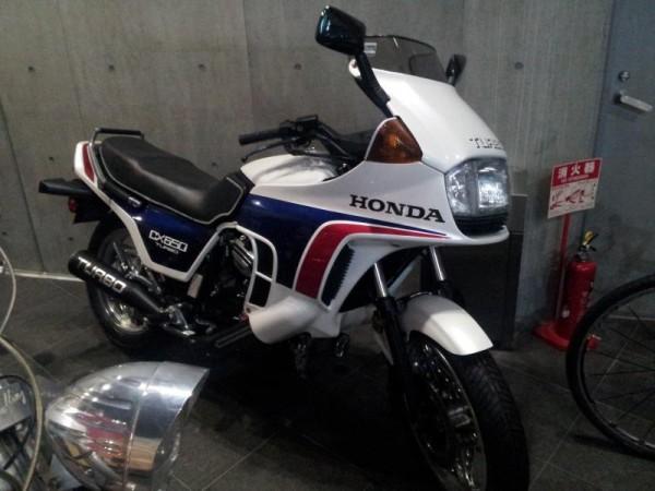 「HONDA CX650 TURBO」