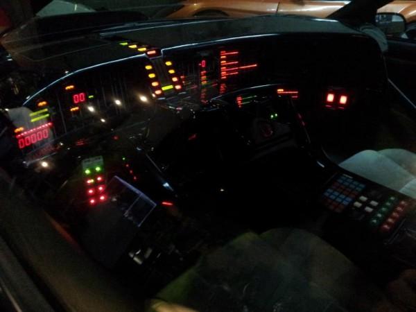 ナイトライダー「キットの運転席」