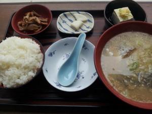 【新潟県糸魚川市】 道の駅 市振の関 「たら汁定食」