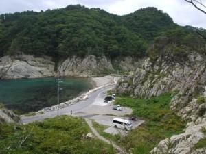 2011.3.11 津波到達地点の高さ(実際はもっと高い)