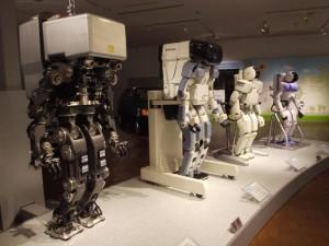 ホンダASIMOのプロトタイプ達 「P1・P2・P3・ASIMO」
