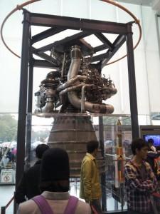 名古屋市科学館 LE-7エンジン