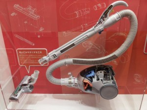 名古屋市科学館 掃除機のカットモデル