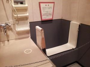 名古屋市科学館 浴槽のカットモデル