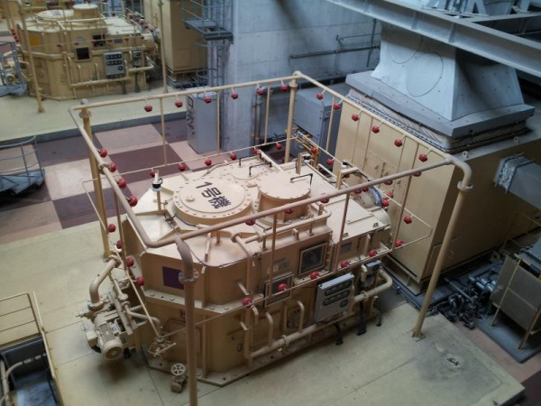 首都圏外郭放水路 航空機用に開発された出力14000PSのガスタービンエンジン