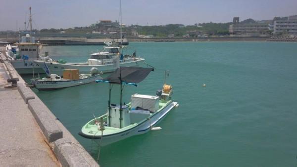 沖縄の漁港