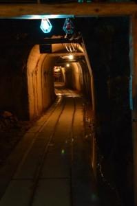 佐渡金山 近代の坑道