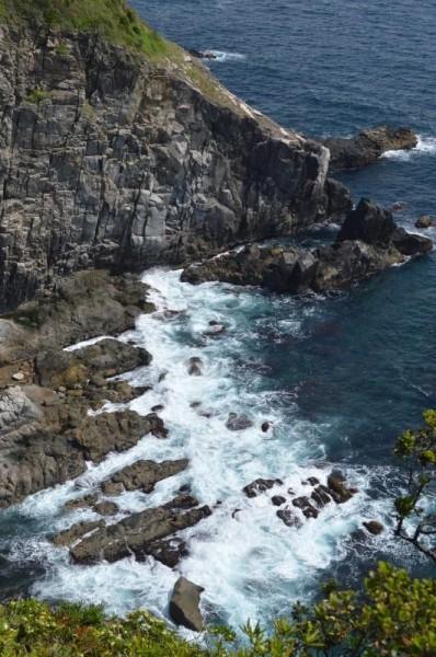足摺岬の海