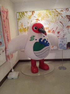 【新潟県佐渡市】 トキ資料展示館 マスコット