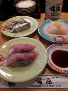 【新潟県佐渡市】 回転寿司 弁慶 地物寿司再び