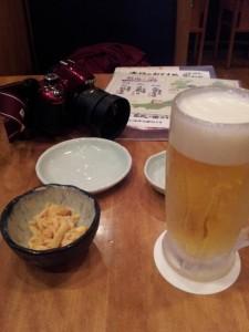 新潟駅でも酒