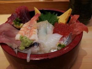 【茨城県日立市】 日立おさかなセンター 久慈浜みなと寿し 「地魚丼」