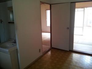 入居時の状態に戻ったアパート