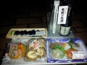 刺身にさんま寿司等々