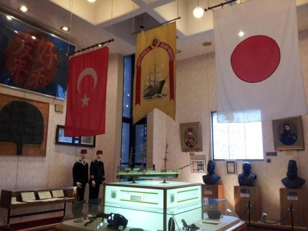 【和歌山県串本町】 トルコ記念館 展示室