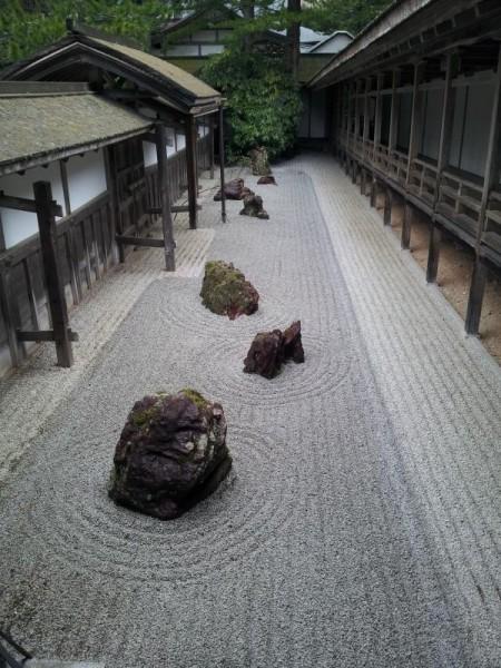 高野山金剛峯寺 日本庭園