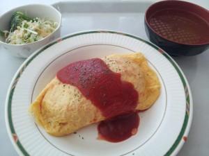 【兵庫県佐用町】 SPring-8 食堂 「オムライスセット」