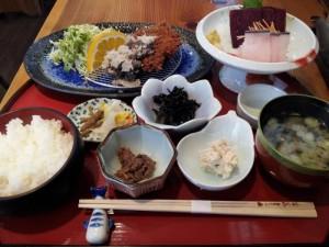 【千葉県和田町】 くじら料理の店ぴーまん 「御膳メニューより黒滝」