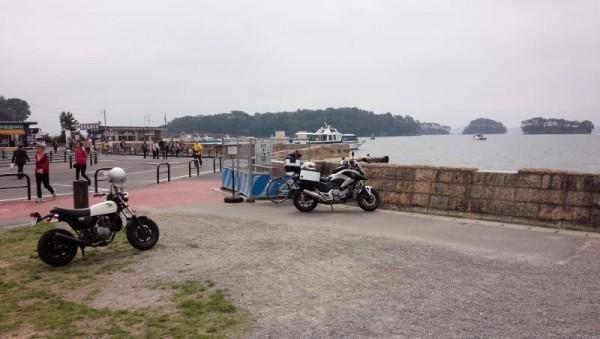 松島の駐輪場