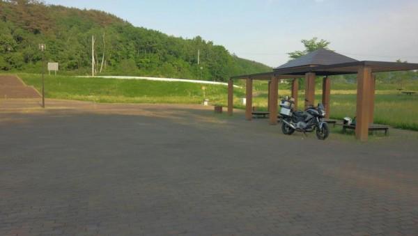 フォリストパーク軽米近くの公園