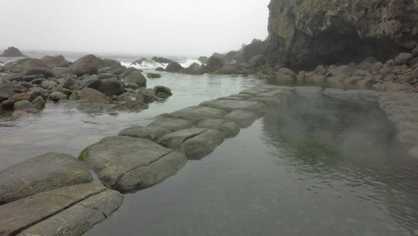 水無海浜温泉の湯船