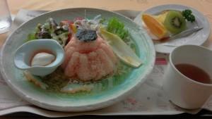 【北海道千歳市】 丸駒温泉旅館 「アキヒメ温玉ライス」