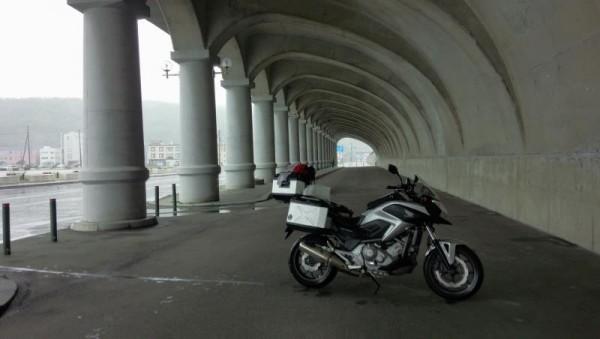 稚内ドームへ避難